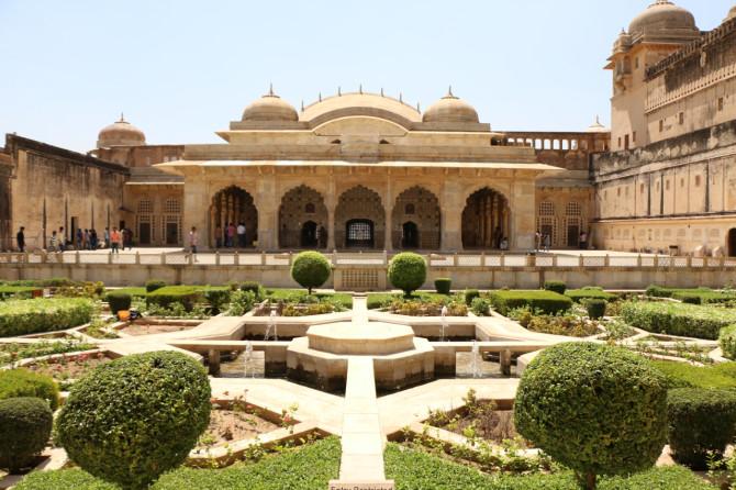インド ジャイプル アンベール城④