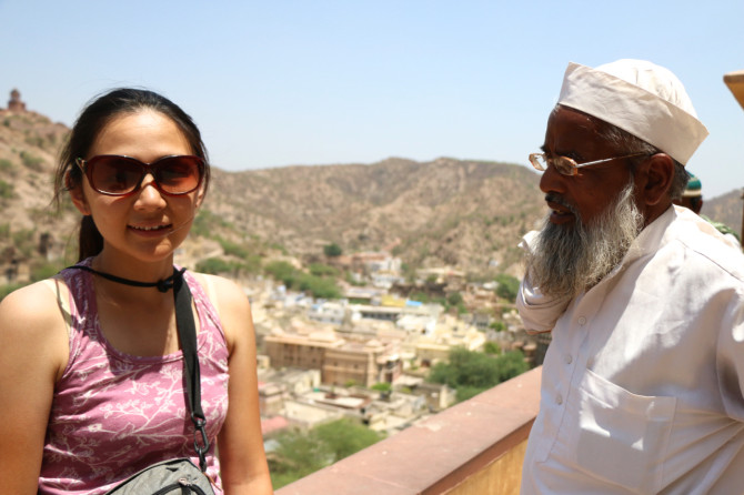 インド ジャイプル アンベール城⑥