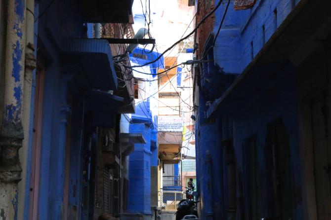 インド ジョードプル 青い街①