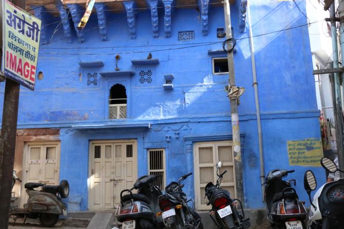 インド ジョードプル 青い街②