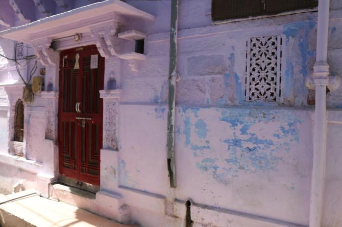 インド ジョードプル 青い建物②