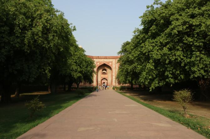 インド デリー フユマーン廟⑤
