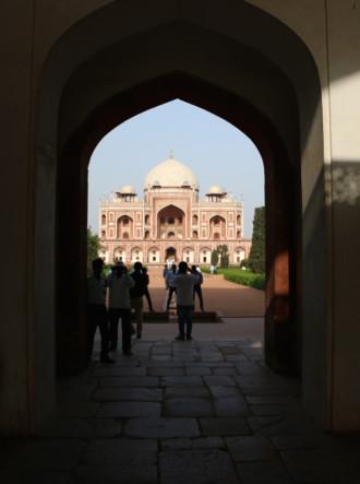 インド デリー フユマーン廟