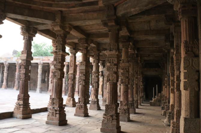 インド デリー クトゥブミナール④