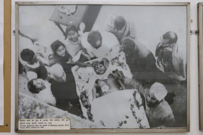 インド デリー ガンジー博物館②