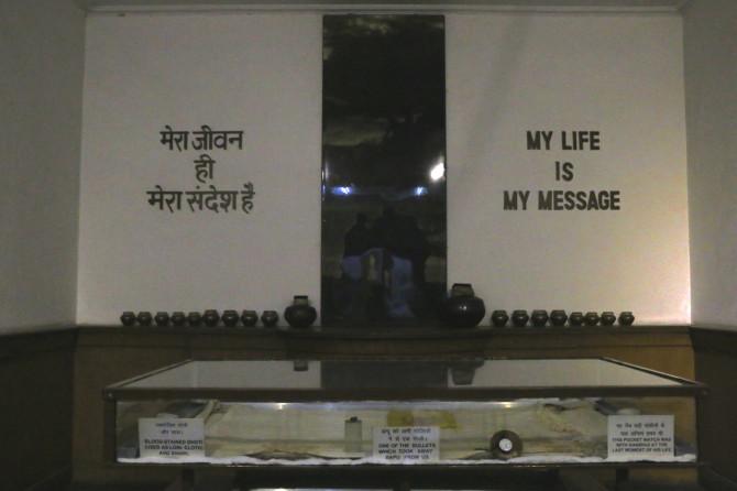 インド デリー ガンジー博物館④