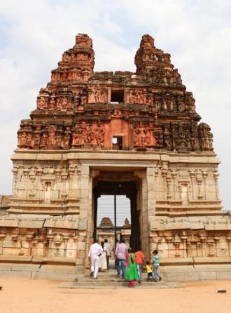インド ハンピ ヴィッタラ寺院①