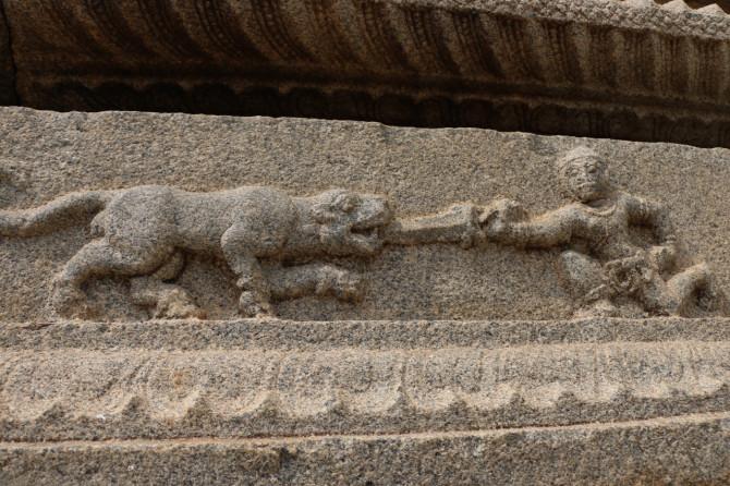 インド ハンピ ヴィッタラ寺院⑥