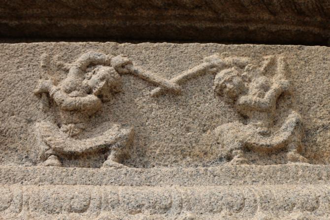 インド ハンピ ヴィッタラ寺院⑦