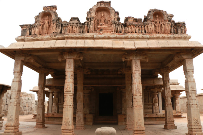 インド ハンピ ハザーララーマ寺院①