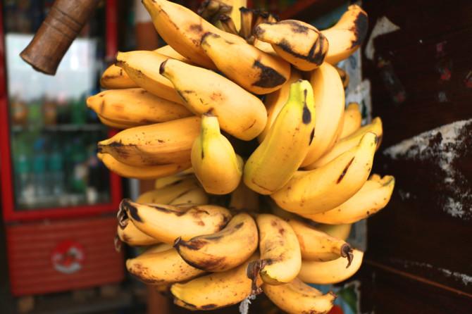 インド ハンピ バナナ①