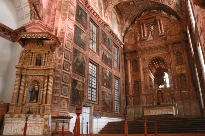 インド ゴア 聖フランシス教会②