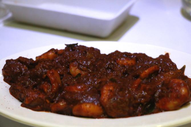 インド アレッピ 料理①