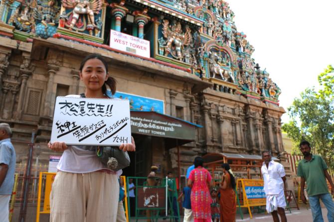 インド マドゥライ 寺院①