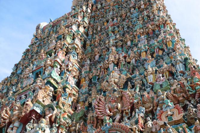 インド マドゥライ 寺院④
