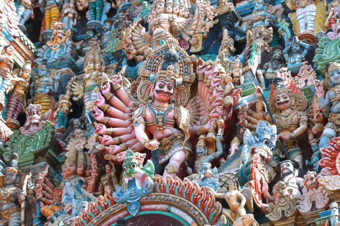 インド マドゥライ 寺院⑤