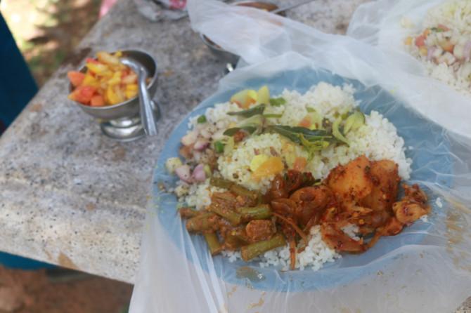 スリランカ アヌラーダプラ ご飯