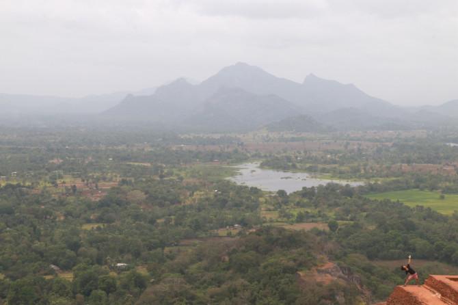 スリランカ シーギリヤ 景色