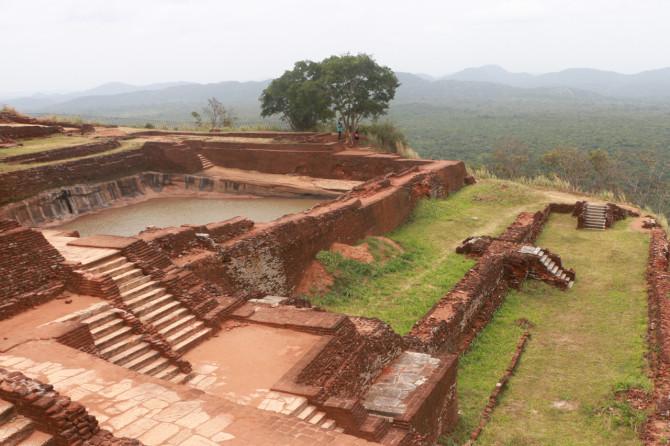 スリランカ シーギリヤ 遺跡