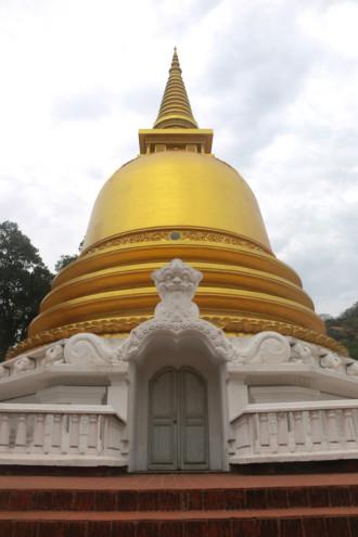スリランカ ダンブッラ 仏塔