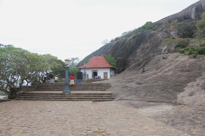 スリランカ ダンブッラ 入口