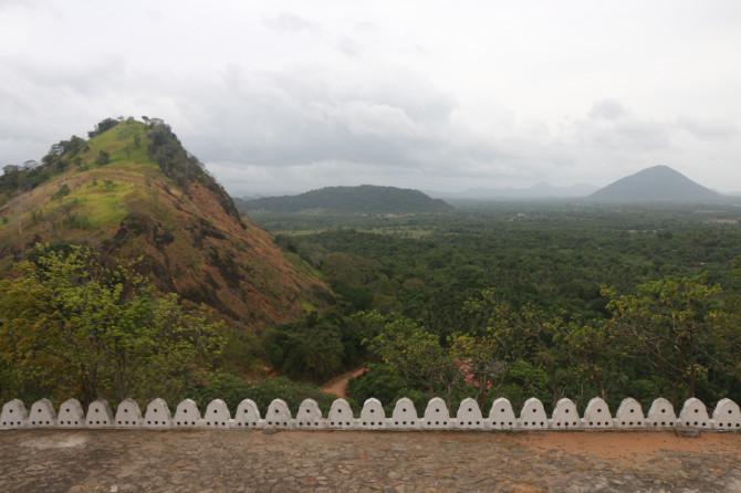 スリランカ ダンブッラ 景色