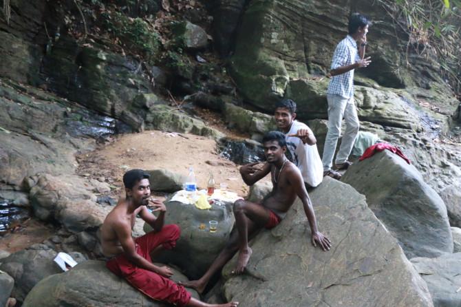 スリランカ ラトゥナプラ 滝②
