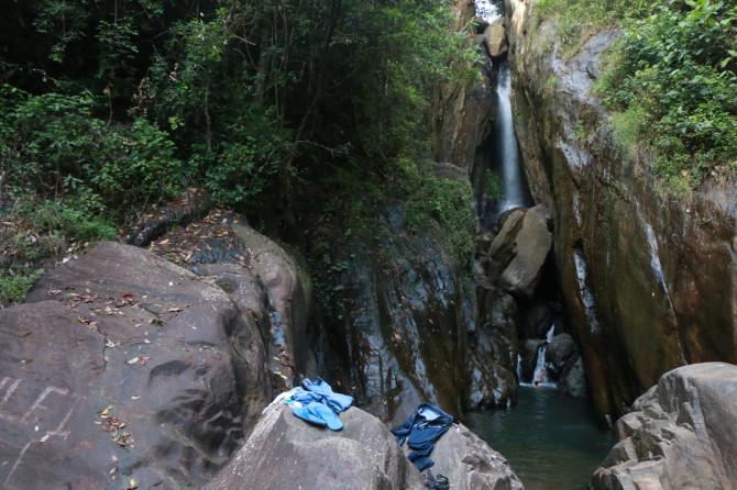 スリランカ ラトゥナプラ 滝③