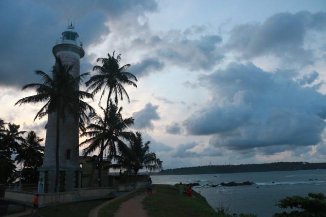 スリランカ ゴール 灯台