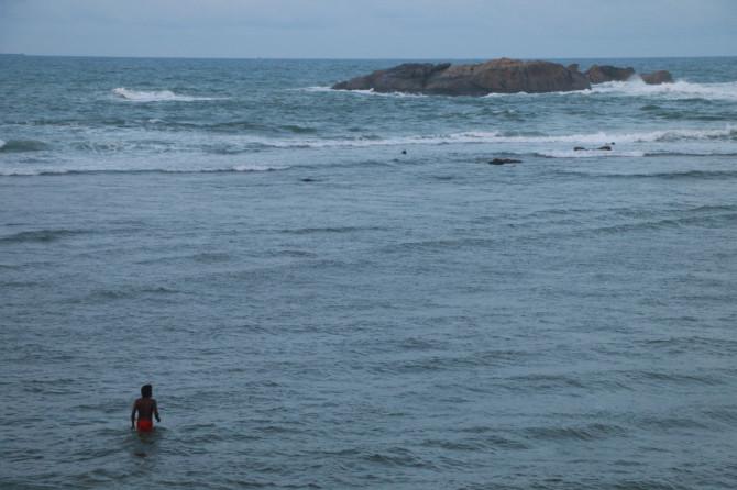 スリランカ ゴール 海