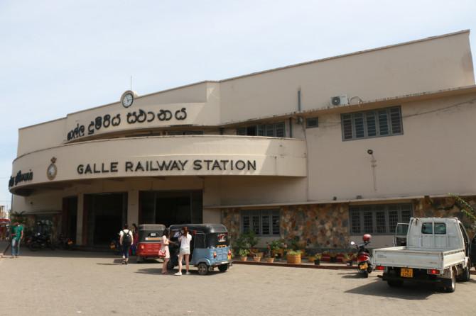 スリランカ ゴール 駅