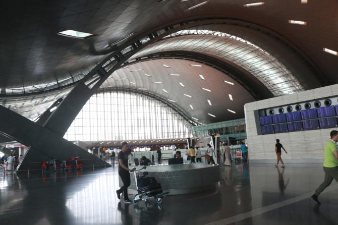 カタール ドーハ 空港④