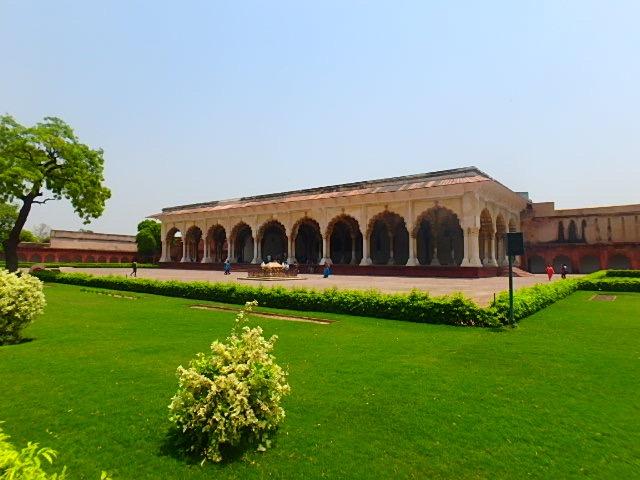 インド アグラ アグラ城塞⑨