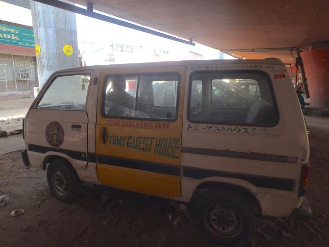 インド ジャイプル トニー車