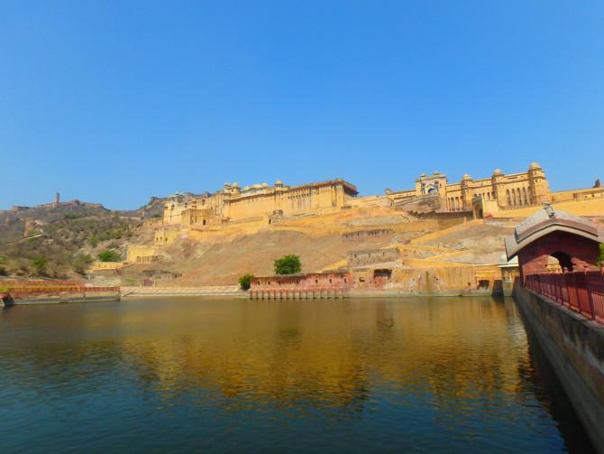 インド ジャイプル アンベール城⑦