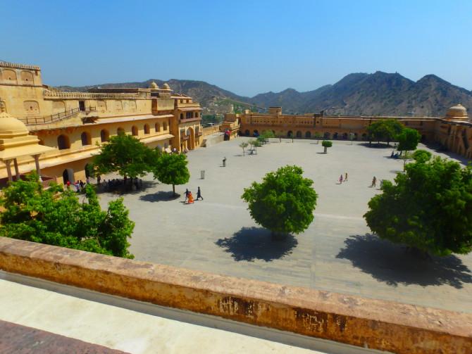 インド ジャイプル アンベール城⑧