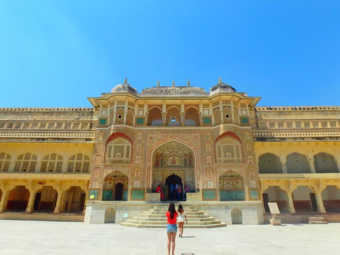 インド ジャイプル アンベール城⑨