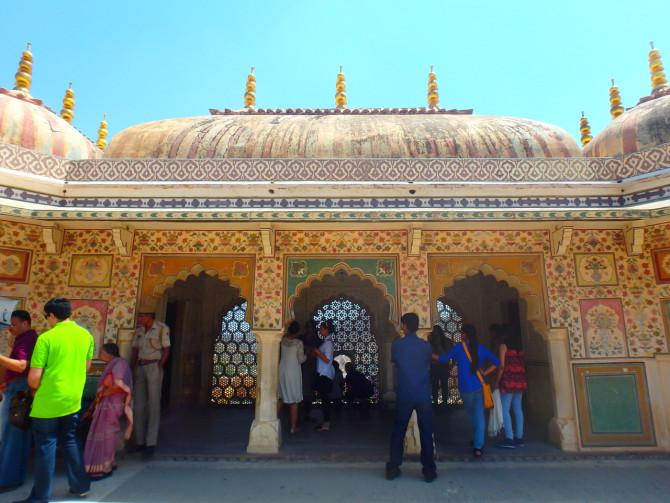 インド ジャイプル アンベール城