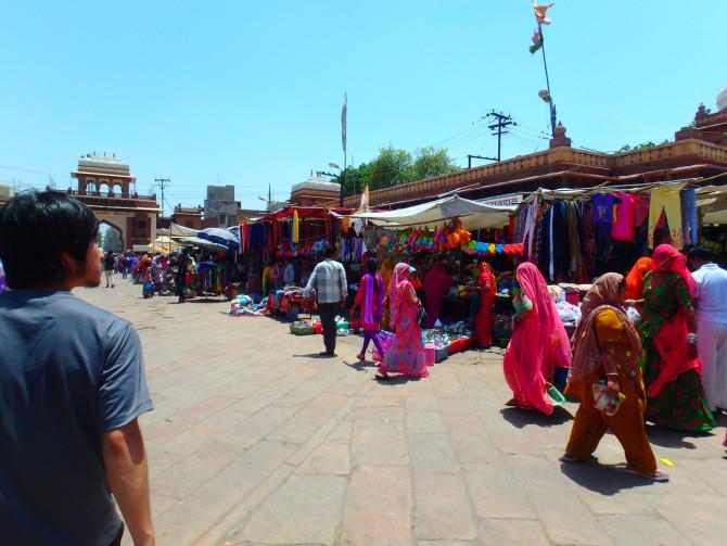 インド ジョードプル 散策