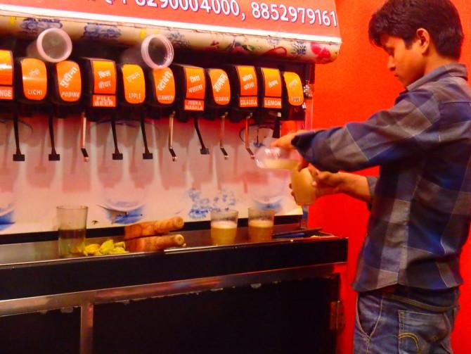 インド ジョードプル ソーダ屋