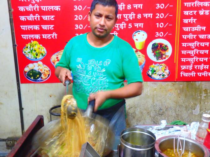 インド ジョードプル 料理屋