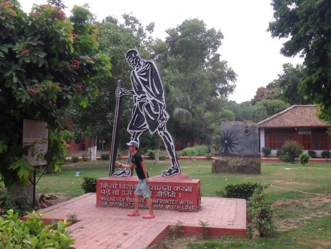 インド デリー ガンジー博物館⑤