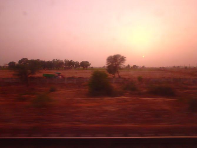 インド アウランガーバード 太陽