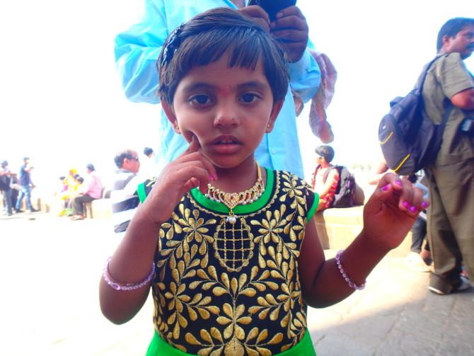 インド ムンバイ 子供