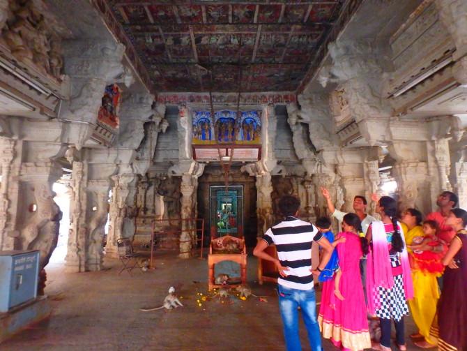 インド ハンピ ヴィルーパークシャ寺院③