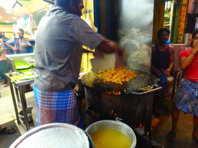 インド マドゥライ 店①
