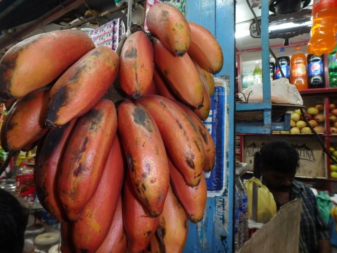 インド マドゥライ バナナ