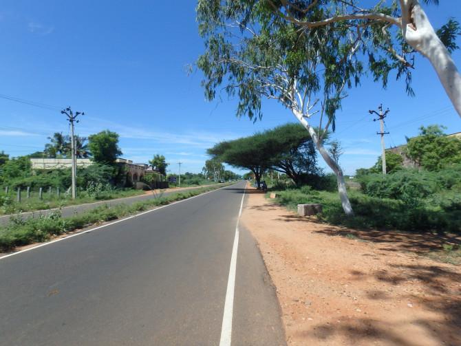 インド マドゥライ 道①