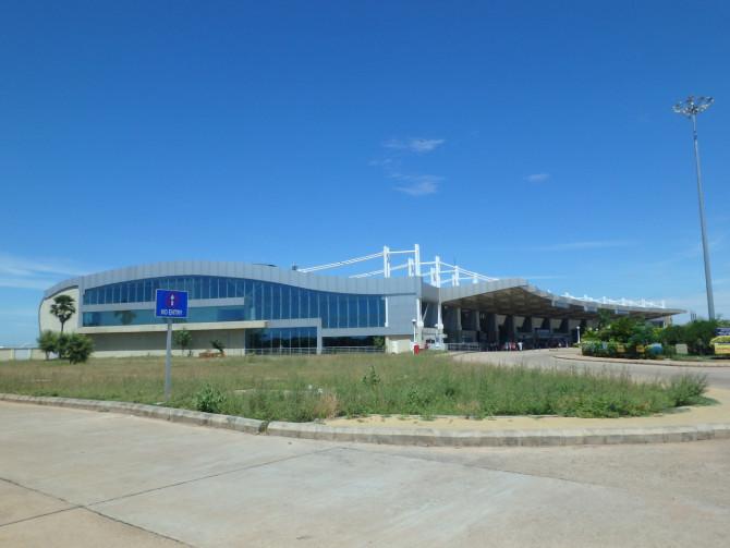 インド マドゥライ 空港①