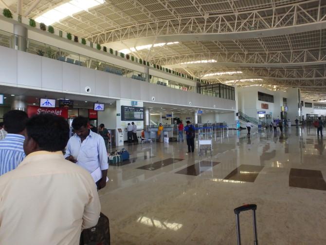 インド マドゥライ 空港②